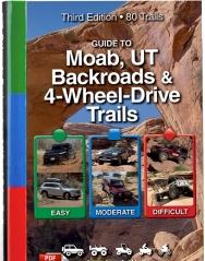 UTV and ATV Guide Book to Moab Utah