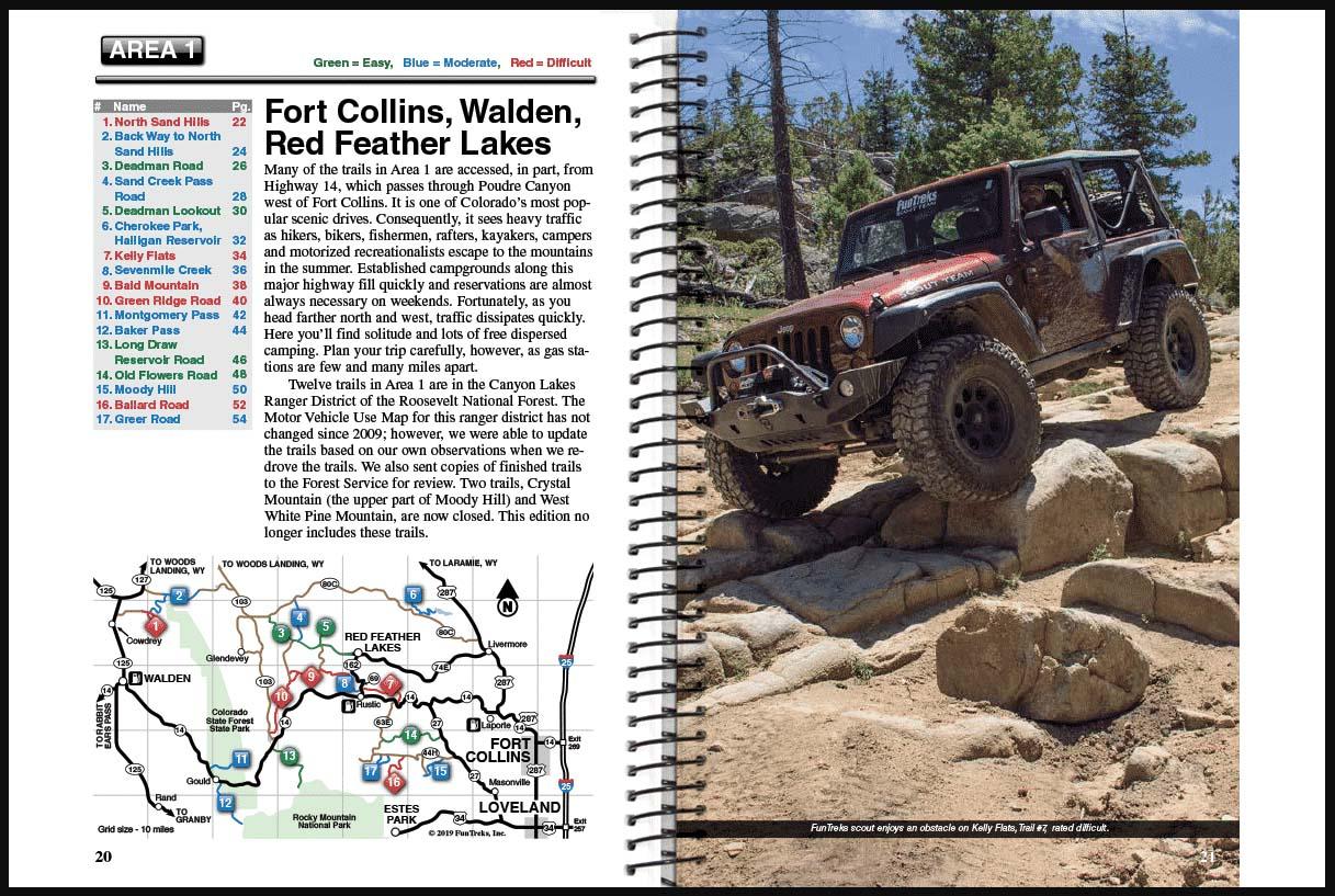 Northern Colorado Guide Book Area 1