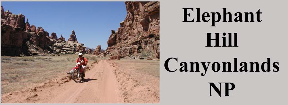Elephant Hill Trail Canyonlands National Park