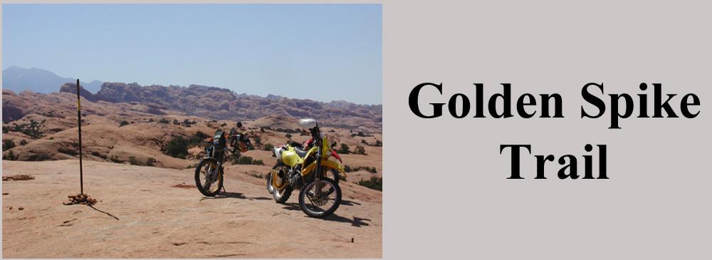 Golden Spike Trail Moab Utah