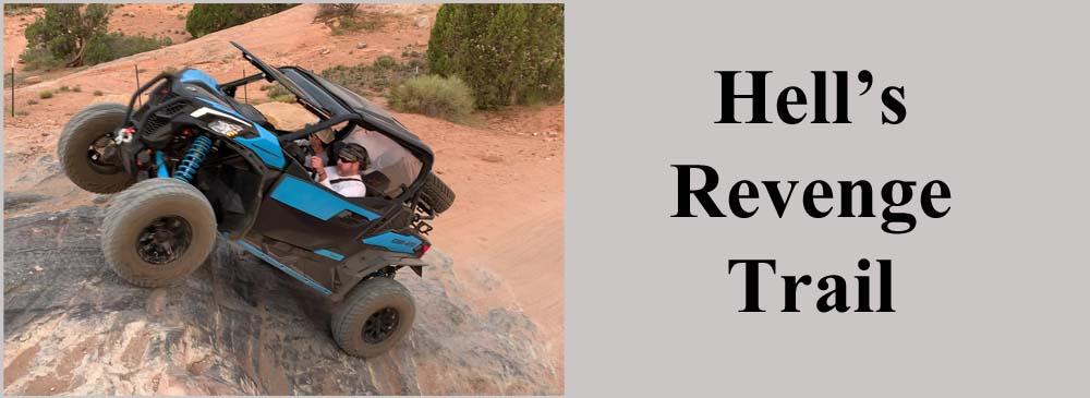 Hell's Revenge Trail Moab Utah