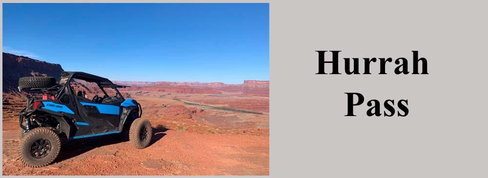 Hurrah Pass Moab Utah UTV Trail