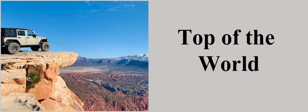 Top Of The World Trail Moab Utah